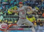 TYLER MAHLE RC 2018 TOPPS CHROME #12 PRISM REFRACTOR CINICNNATI REDS RC
