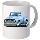 1955 Ford F100 Pickup Truck Coffee Mug 11oz 15 oz Ceramic NEW image