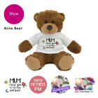 Personalised Name Photo Mothers Day 2019 Anne Teddy Bear Presents Gifts for Mum