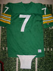 VTG 1970's Champion Game Used Worn Football Crotch Flap Greeb Bay Packers Colors