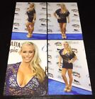 LOT (4) KENDRA WILKINSON ~ 4x6 GLOSSY PHOTO SET ~ sexy busty playboy model
