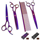 Professional Dog Grooming Scissors Set Dog Hair Clipper Trimmer Shaver Cordless