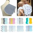 Waterproof Burp Cloths Burpy Bib Set 3 Pack Cotton For Boys and Girls Cute