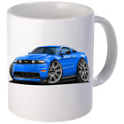 2010 2011 Ford Mustang Coupe Coffee Mug 11oz 15 oz Ceramic NEW image