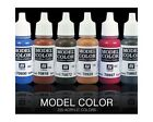 Vallejo Model Color Colours 0.6oz Individually Selectable Acrylic Hobby Paints