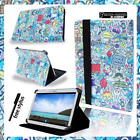 """Samsung Galaxy Tab A A6 Tablet 7"""" 8"""" 10.1"""" Cover Case Skin Stand Leather Cartoon"""