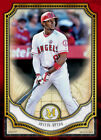 Topps BUNT Justin Upton RED BASE MUSEUM COLLECTION 2018 [DIGITAL CARD] 50cc