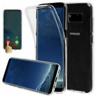 For Samsung Galaxy S10 Plus S10e Slim 360° Full Body Case Soft TPU Clear Cover