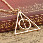 HOT Movie Harry Potter The Deathly Hallows charm talisman PENDANT Necklace Chain