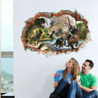 Cartoon Dinosaur Wall Stickers For Kids Rooms 3d Home Decoration Mural Poster