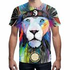 Men's 3D Printed Art Painting T-shirt Soft cotton Short Sleeve Tee Tops