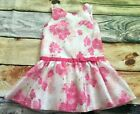 Gymboree Egg Hunt Spring Dressy 4 10 Floral Striped Organza Dress NWT Easter