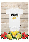 Daddy's Girl baby onesie,Newborn Bodysuits,Glitter Onesie,Baby Girl Clothing