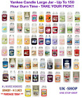 Yankee Candle Large Jar - Up To 150 Hour Burn Time - TAKE YOUR PICK!!