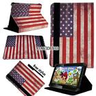 """For Various 7"""" 10"""" Fusion5 Tablet - Folio Stand Leather Cover Case + Stylus"""