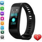 Sports Blood Pressure Oxygen Heart Rate Fitness Smart Watch Activity Track&Y5Man