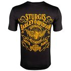 Sturgis Harley-Davidson Authentic Black Short Sleeve T-Shirt $29.99 USD on eBay