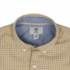 Timberland Men's Yellow Checked L/S Woven Shirt (Retail $70)