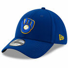 Milwaukee Brewers New Era 39THIRTY MLB Team Classic Stretch Flex Cap Hat Glove on Ebay