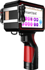 "CNCOLETECH 5"" Large Touch Screen Handheld Inkjet Printer Ink Date Code Machine"
