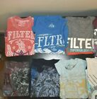 Wholesale Lot Mens T Shirts 2nd Quality FILTER Assorted Prints Original Samples