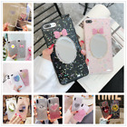 Lovely 3DCute Smile Glitter Sequins Gold Foil Case Cover For iphone X 6 7 8 Plus $3.59 USD on eBay