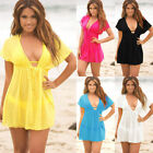 Ladies Summer Beach dress Cover up Kaftan Sarong Summer wear Swimwear Bikini