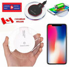 Qi Wireless smart Charger Charging Pad For 8 Plus Samsung S9 S8 Phone XS MAX XR