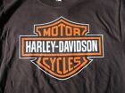 Dudley Perkins Co. Harley-Davidson Black Bar & Shield T-Shirt ***BRAND NEW*** $21.95 USD on eBay