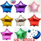 10pcs Star Shape Helium Foil Balloon Home Party Decor Ballons Birthday Wedding