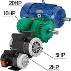 1~20 HP 1Phase 3450RPM Electric Air Compressor Duty Motor 56 Frame 5/8