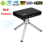 Mini Pocket DLP Projector Android Wifi 1080P 3D LED Home Theater Cinema BT4.0