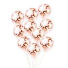 Rose Gold Happy Birthday Bunting Banner Balloons 18/21st/30/40/50/60 Party Decor