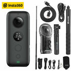 Insta360 One X VR Panoramic 5.7k Selfie Stick  Time Handle Housing Case