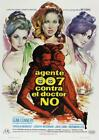 James Bond Poster//Vintage James Bond Movie Poster//Dr. No Spanish Release With $84.99 USD on eBay