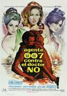 James Bond Poster//Vintage James Bond Movie Poster//Dr. No Spanish Release With $14.99 USD on eBay