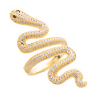 Taylor Swift Official Snake Ring Silver Platinum or Gold 24KT Reputation Tour