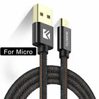 Cowboy Braided Gold-plated Plug Fast Charge Data Cable Micro USB Cable