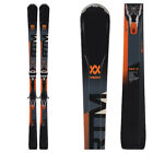 NEW 2019 VOLKL RTM 81 SNOW SKIS WITH MARKER BINDINGS   SIZE: 163
