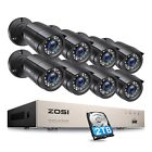 Kyпить ZOSI HD 8CH 1080P DVR 720P Outdoor Home Surveillance Security Camera System 1TB на еВаy.соm