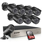 Kyпить ZOSI 8CH H.265+ 1080P Home Surveillance Security Camera DVR System Outdoor 1TB на еВаy.соm