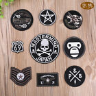 Iron on Patch Embroidered Badges Rock Cool Appliques Clothes Stickers Punk Pins $0.99 USD on eBay