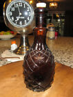 Pineapple Bitters W&Co W & Co.  antique glass bottle 1845-1855 amber color