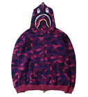 2019 bape hoodie windbreaker a bathing ape camo jackets shark zip coat sweats