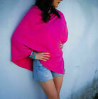 New Women Baby Mum Breastfeeding Nursing Poncho Cover Up Udder Cape Cotton Shawl