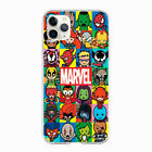Marvel comics Avengers logo case cover for phone models iPhone 11 Pro Max Huawei