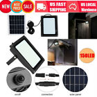 Solar Powered 150 LED Garden Outdoor Motion Sensor Light Security Flood Lamp US