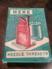 Vintage Hexe needle threader West Germany Sewing Gadget