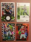2018 PRIZM RUSSEL WILSON RED WHITE BLUE HOLO PRIZM - 2017 ENCASED  (D100)
