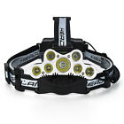 150000LM 5 XM-L T6+2 LED Headlamp Head Light Flashlight Head Torch Super Bright
